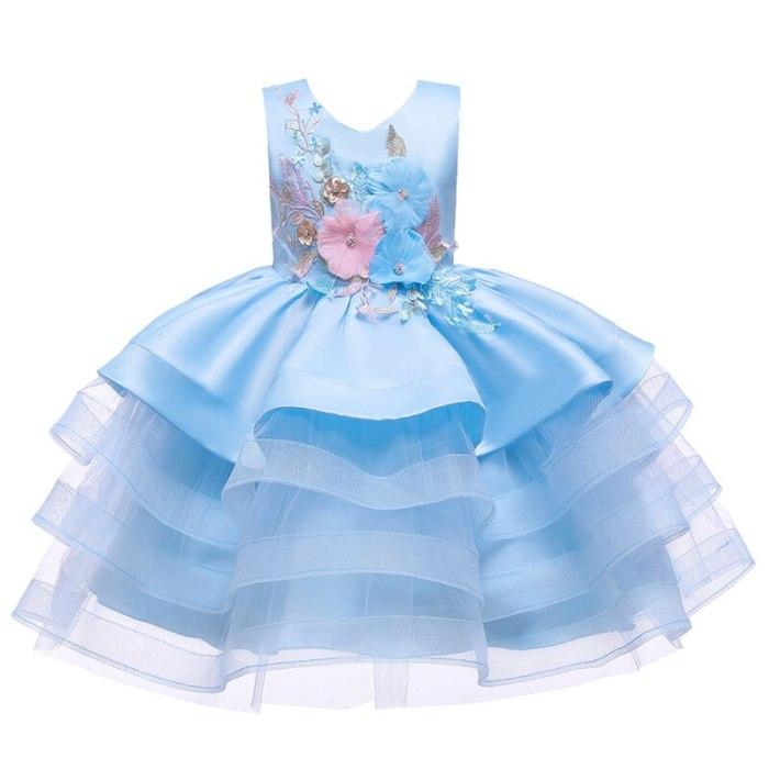 Girls Dresses Kids Clothes Wedding Events Flower Girl Dress