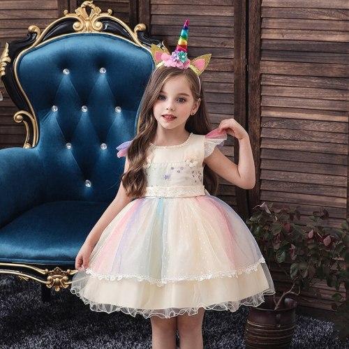 Princess Kids Clothes Children Birthday Party Dress