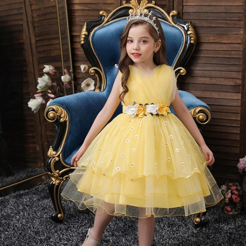 Girls Dress Princess Party Pageant Formal Dress Prom Birthday Dress