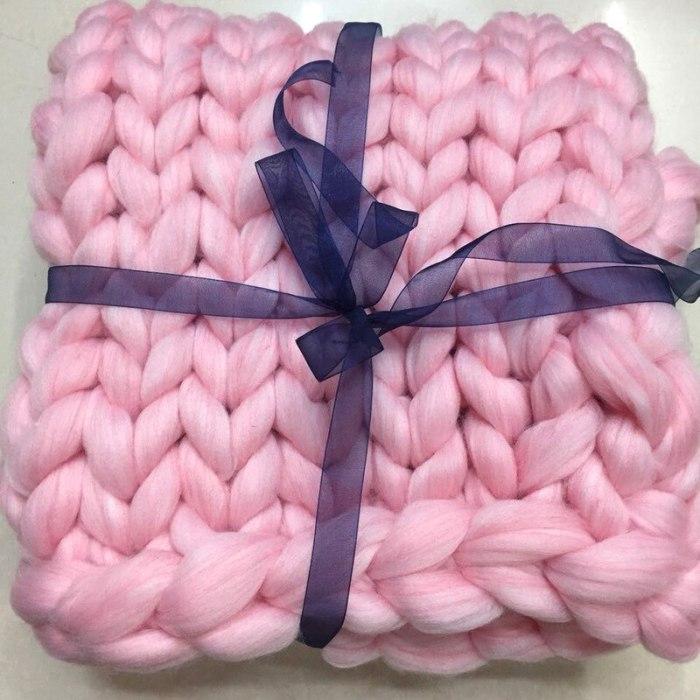 1KG thick 8CM thread hand-knitted woolen blanket yarn