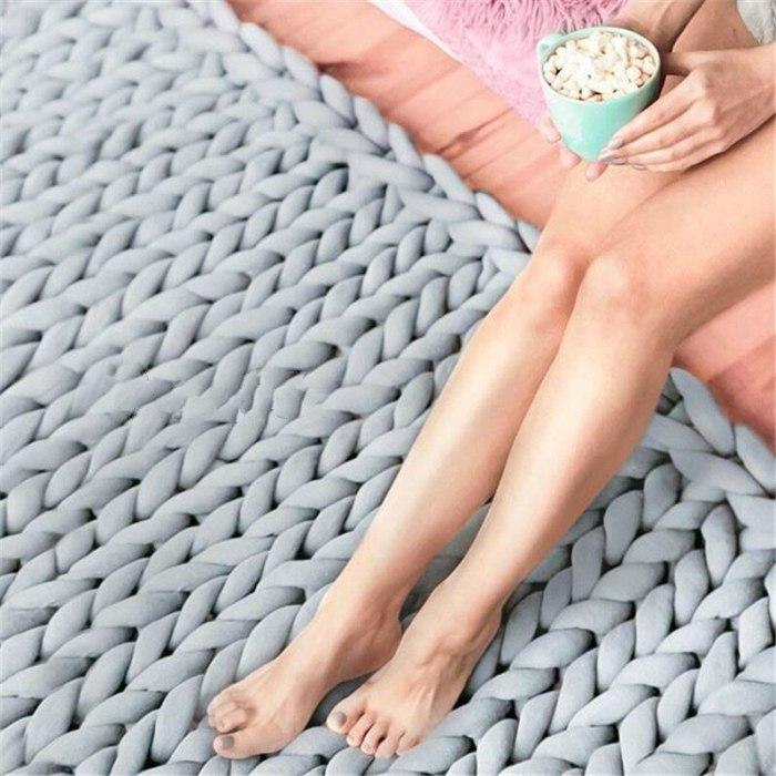 500g Bulky chunky yarn DIY Spinning yarn for blanket