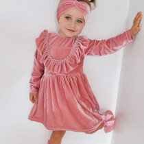Baby Girl Princess Dress Velvet Dress
