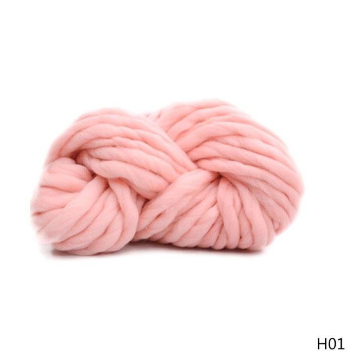 250G Chunky Wool Yarn DIY Knitted Blanket Yarn