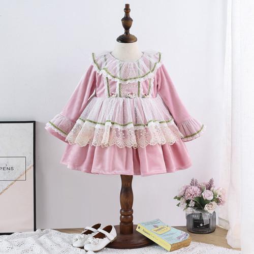 Baby Girls Lolita Style Princess Dress