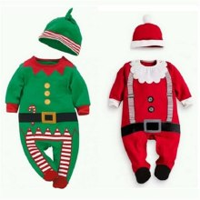 Newborn Baby Rompers Set Christmas Clothes