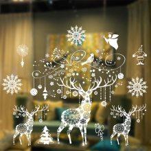 Christmas window clings Xmas Window Stickers