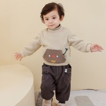Toddler Boys Long Sleeve T Shirts Baby Boys Velvet Coat