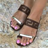 Plus Size Thong Beach Flat Sandals