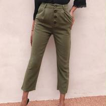 Casual And Retro Buttons For   Pants