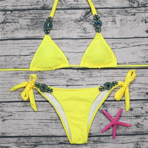 Sexy Diamonds Multicolor Straps Bikini