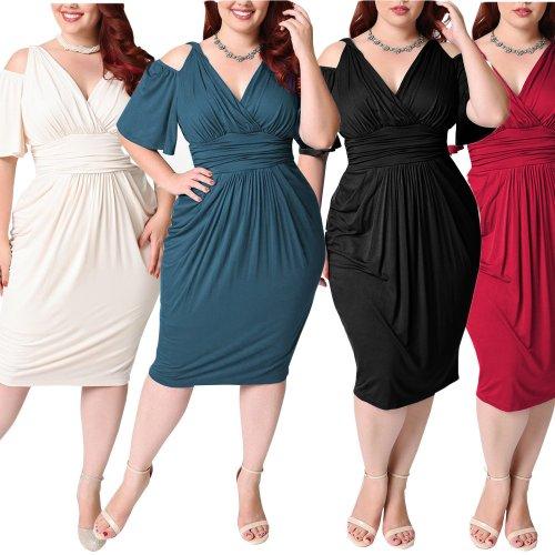 Sexy Deep V Casual Bodycon Dress