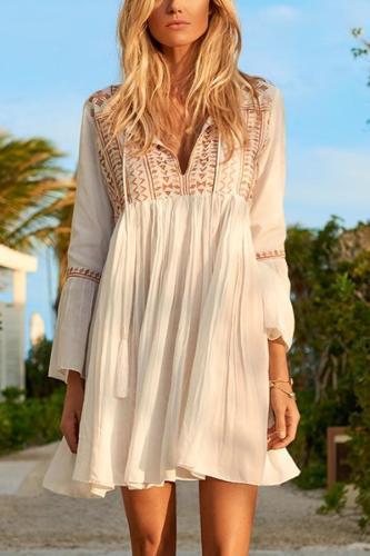 Elegant Bikini Cover Ups Vacation Dress