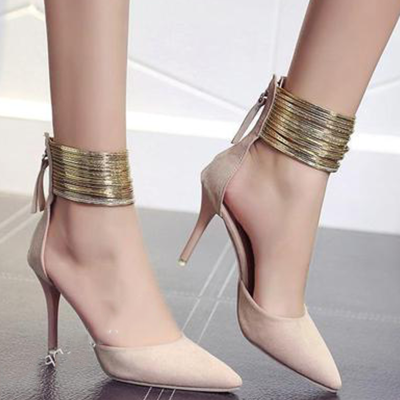Plus Size Pointed Toe High Heels