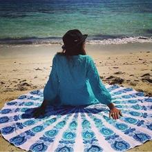 Printed Shawl Spa Beach Towels