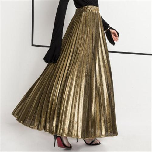 Fold High Waist Tight Women's Skirts