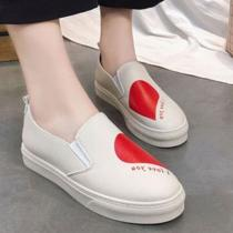 Round Toe Slip On Flat Loafers