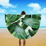 2018 Fashion Circle Print Beach Towel