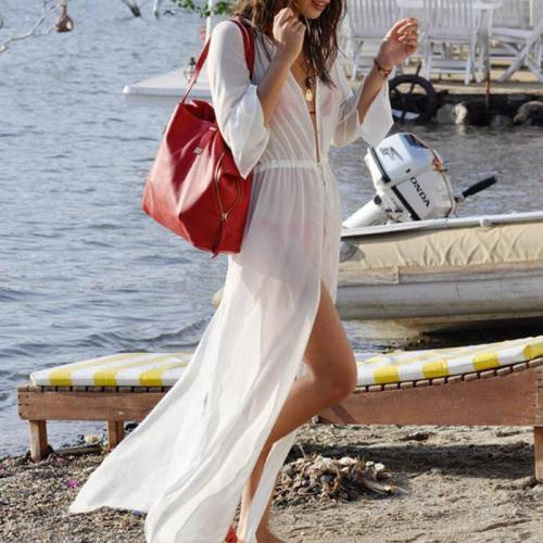 Sexy Vacation Beach Long Dress