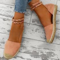 Fashion Rivet Beach Flat Sandals
