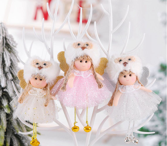 Angel Doll Christmas Ornaments