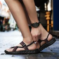 Men's Sandals Thick Bottom Non-Slip Beach Shoes, Flip-Flops