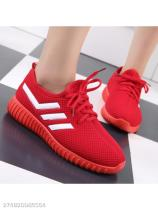 Color Block Flat Criss Cross Round Toe Casual Run Sneakers