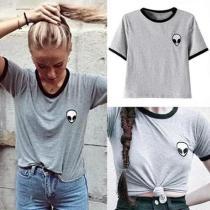 Round Neck Short Sleeve T-Shirts