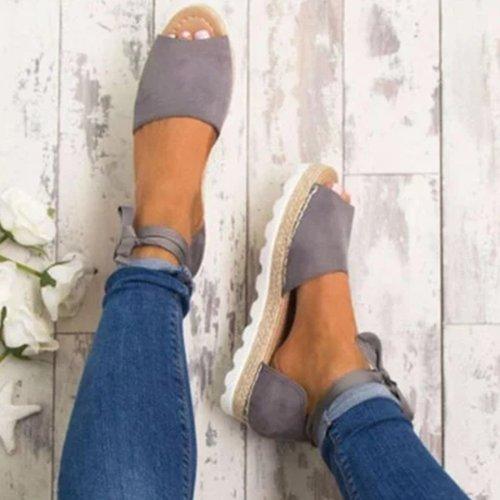 Platform Lace-Up Summer Sandals Shoes