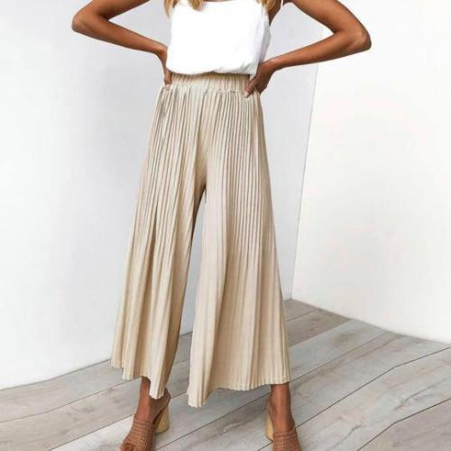 Sexy Wrinkle Loose Comfortable Casual Pants