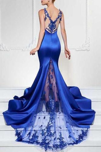 High-End Sexy Evening Dress
