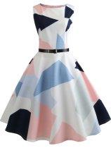 Colouring Vintage Dresses