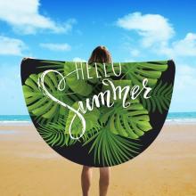Fiber Round Beach Towels
