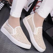 Mesh Hollow Breathable Loafers