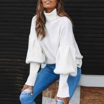 Lantern Sleeve Sweaters