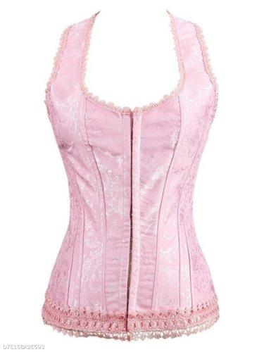 Pink Lace Underwear Slimming Corset