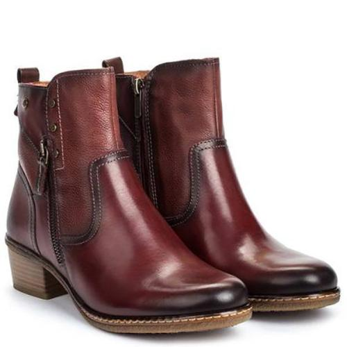 Fashion Middle Heigh Heel Boots