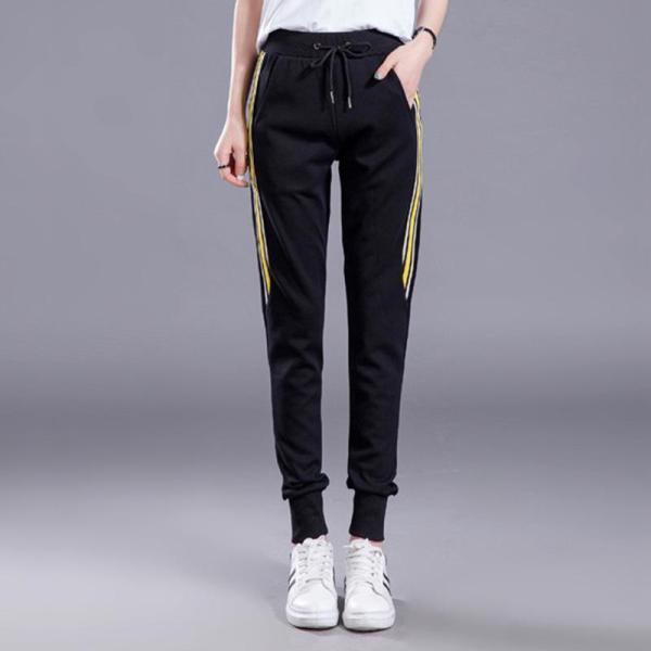 Plain Harem Lace-up Sport Women's Pants