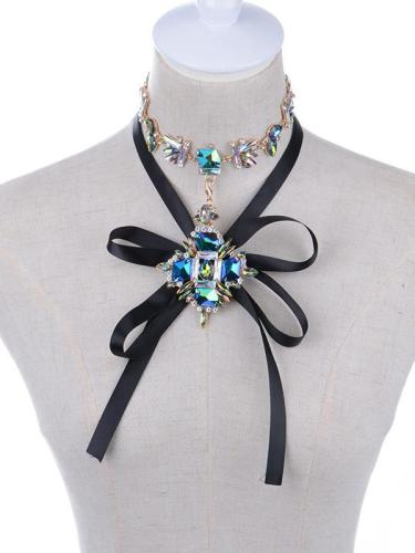 Gem Choker Necklace