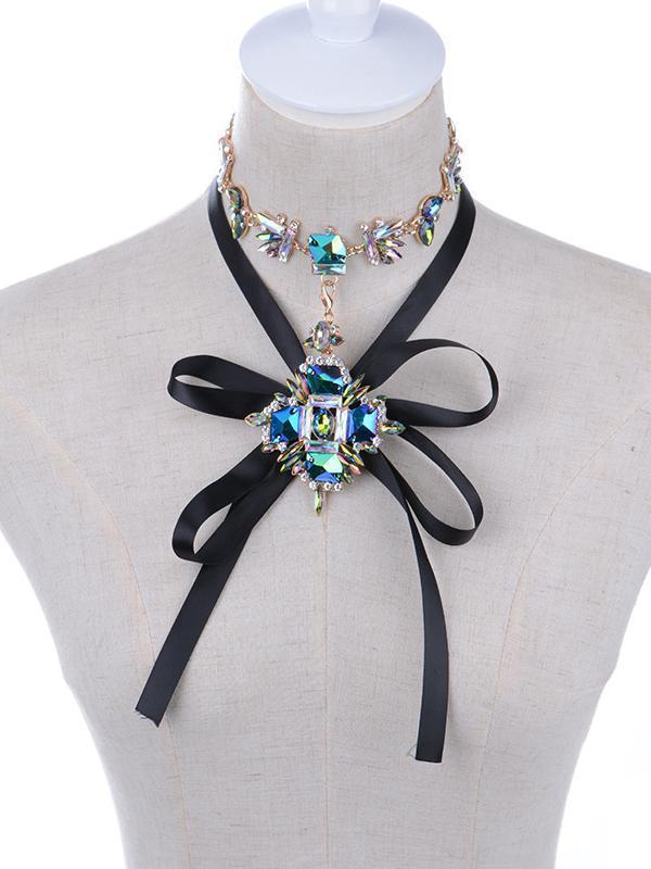 Gem Choker Necklace