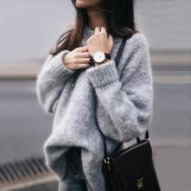 Round Neck Regular Sweaters