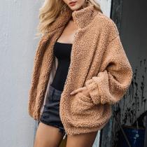 Women Faux Winter Oversize Jacket Coat