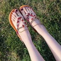 Bohemian Beach Flat Sandals