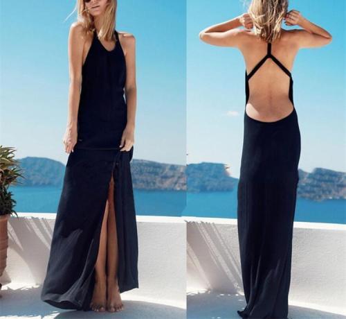 Sexy Backless Beach Skirt