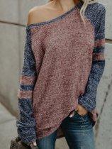 Raglan Sleeve Colouring Sweaters