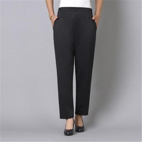 Casual Simple Pocket Wide Leg Women's Pants