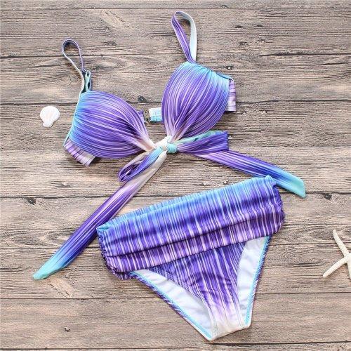Sexy Straps Beach Bikini Set