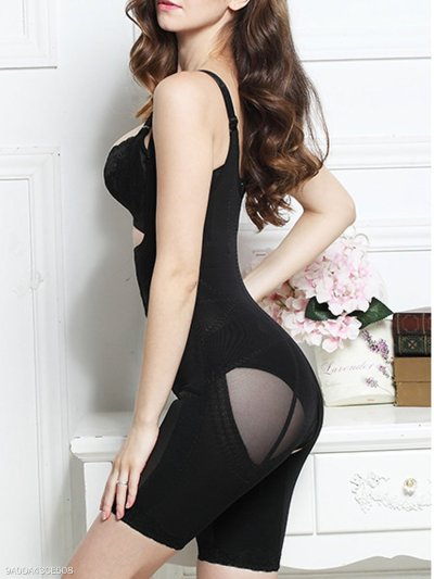 Women Sexy Body Shaping Corset Waist Belly Training Bustiers Jumpsuit
