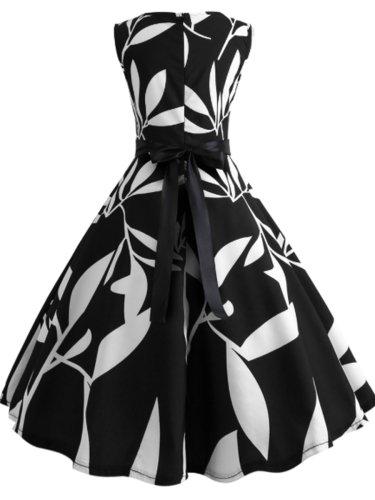 Zips Printed Vintage Dresses