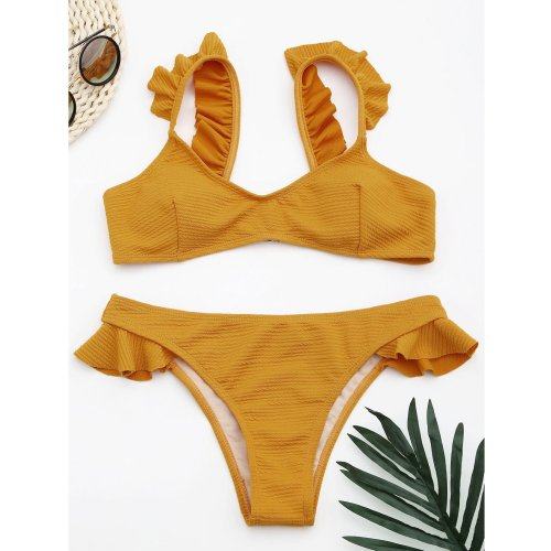 The Wooden Ear Side Separates The Swimsuit