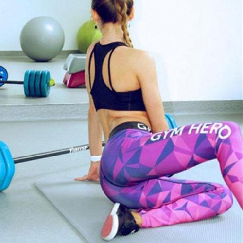 Casual Printing Sport Long Pants